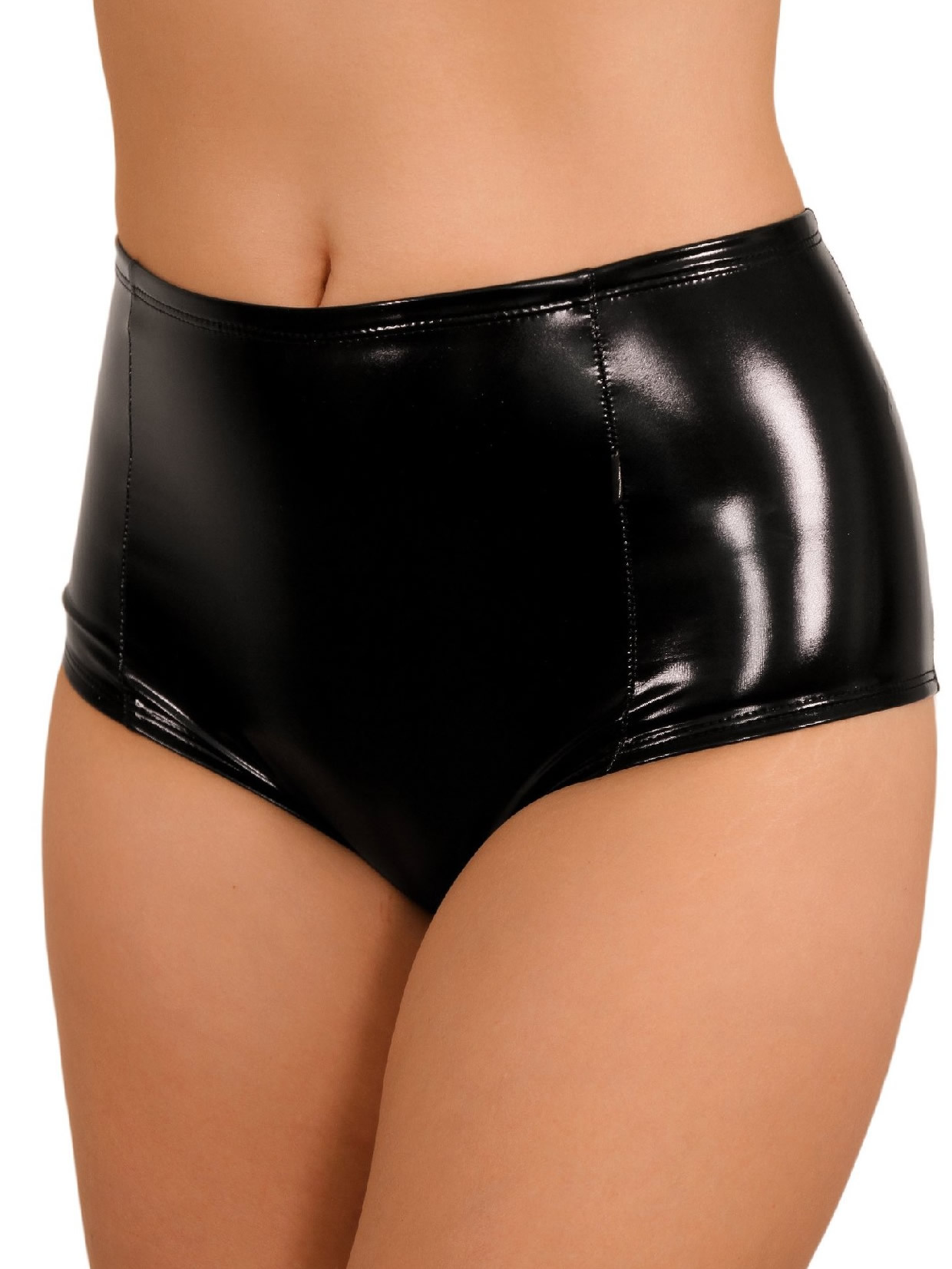 Cleo The Hurricane Heroine Liquid High Waisted Hot Pants