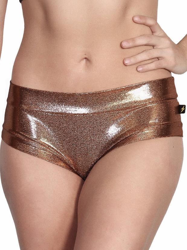 Cleo The Hurricane Rose Gold Hot Pants