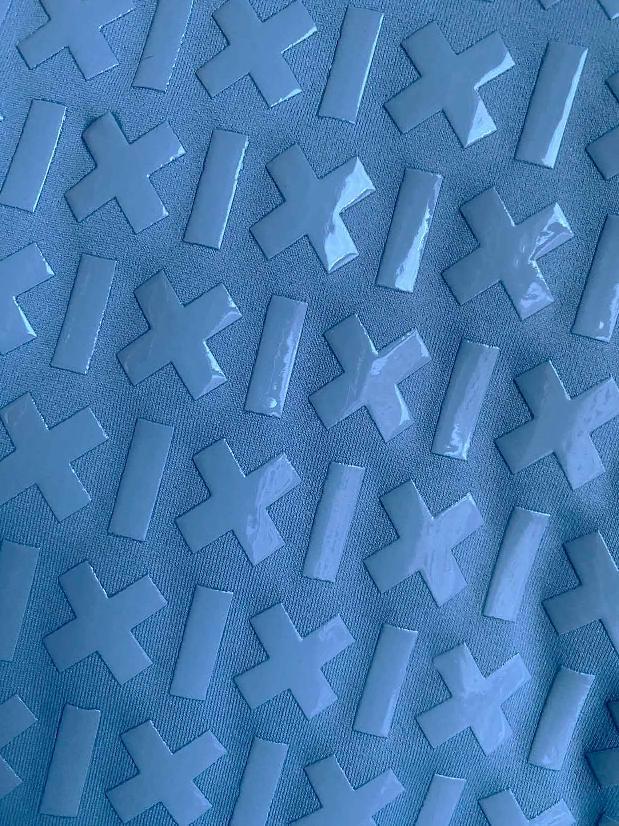 Creatures of XIX Gecko Grip Leggings - Steel Blue