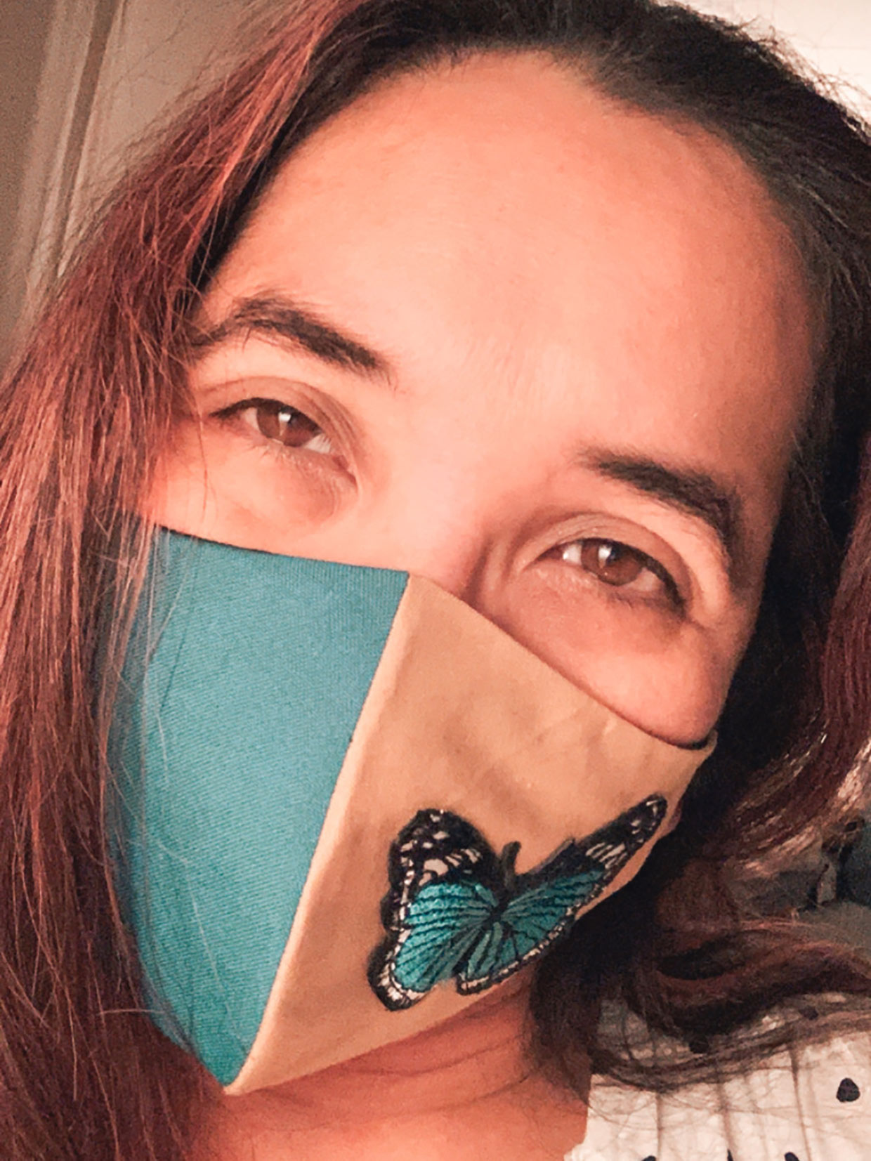 We Are Breathe Masks - Two Tone Butterfly