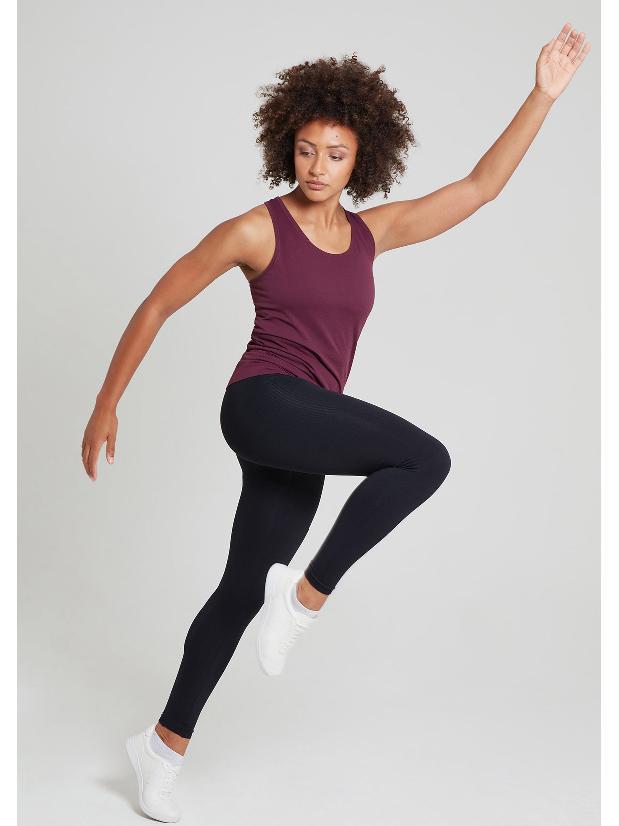 Jilla Active Sweat And Engage Training Vest - Wine