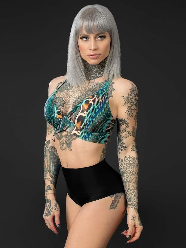 Posto9 - Camila Shorts - Black Eco