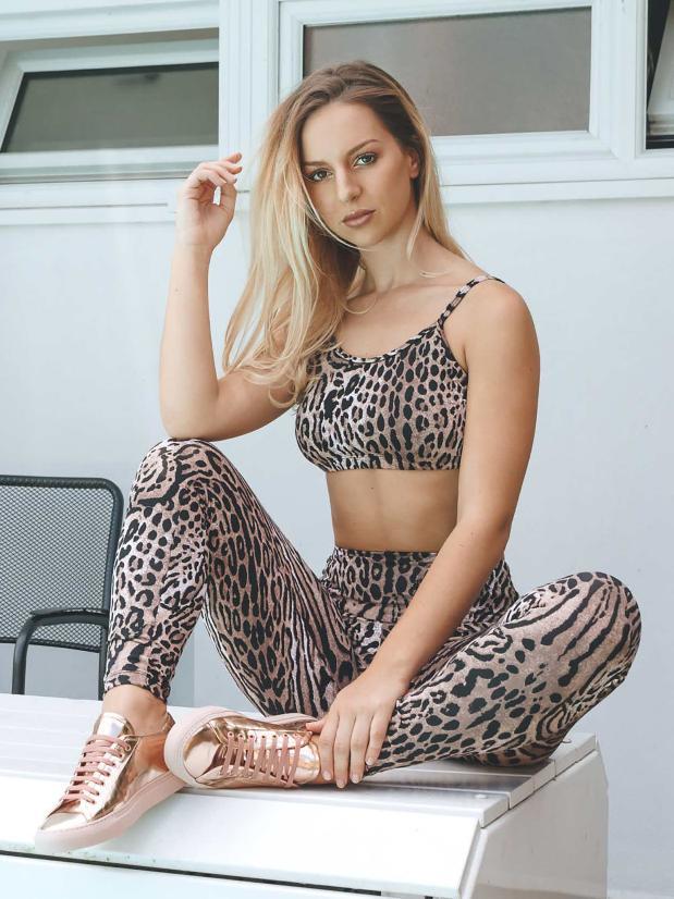 Posto9 - Gisele Leggings - Lynx