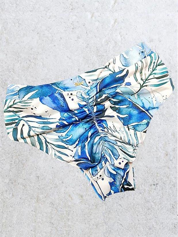 Sapphire Hot Pants - Blue Delight High Waisted Bottoms