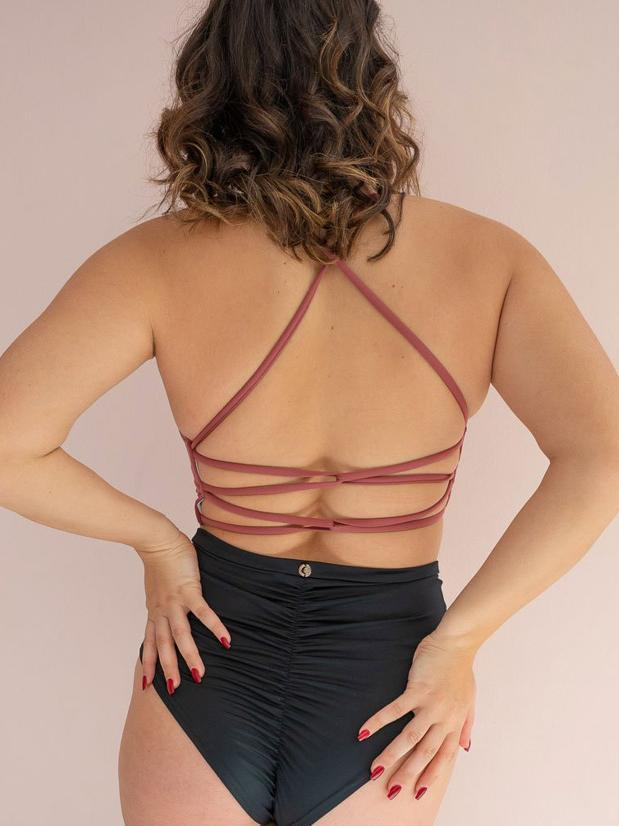 Lunalae Jezelle Top Recycled - Dusty Rose